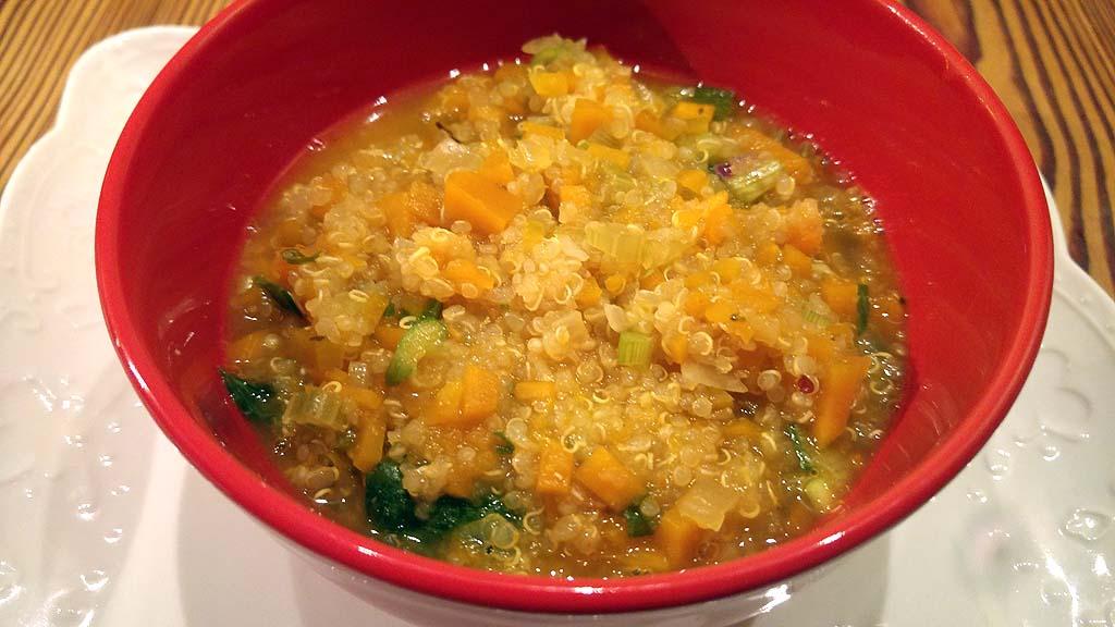 526 risotto de quinoa